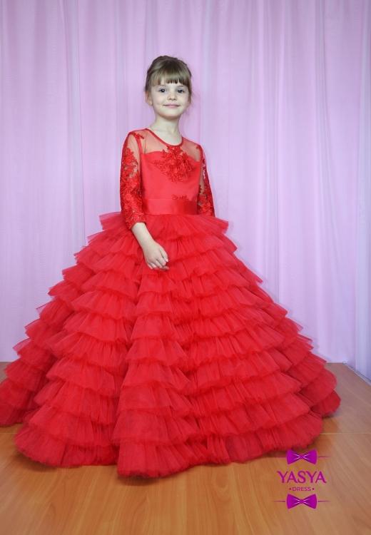 Сукня Міра червоного кольору