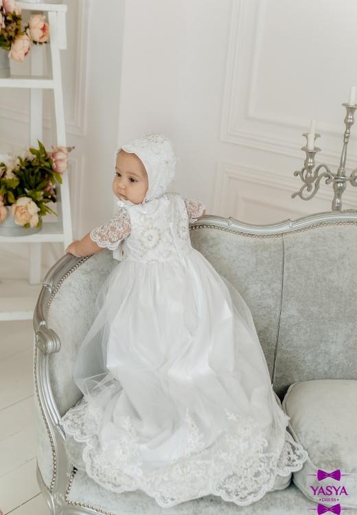 Хрестильна сукня Еліза довга