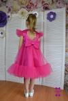 Сукня Меліс малинова