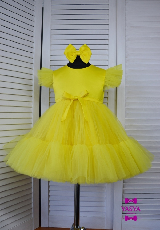 Сукня Меліс жовтого кольору