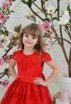 Червона сукня Олівія