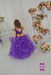 Фіолетова сукня Аміра