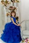Сукня Аміра синього кольору