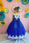 Сукня Ярослава синього кольору