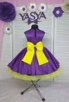 """Сукня """"Стиляги""""- фіолетова"""