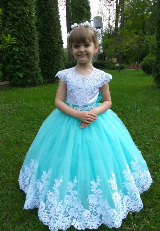 """Сукня Аріні в м""""ятному кольорі"""
