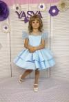 Сукня блакитна Фіорі