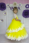 Сукня Мілана в жовтому кольорі