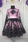Сукня Олівія з чорним кружевом