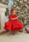 Сукня Фіорі червона новорічна!