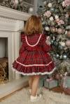 Сукня Новорічна в червону клітинку