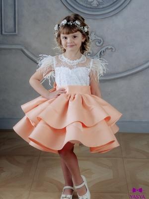 Сукня Фіорі персикового кольору