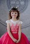Сукня Еліза малинового кольору