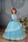 Сукня Мілана голубого кольору