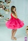 Сукня Асоль2 малинового кольору