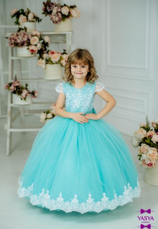 Сукня Ярослава мятного кольору