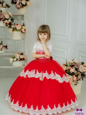 Сукня Мілана червоного кольору