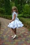 Сукня Фіорі білого кольору