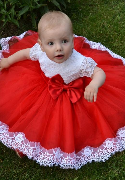 Сукня Ярослава червона
