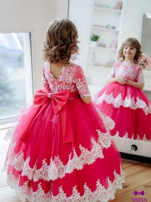 Сукня Мілана малинового кольору