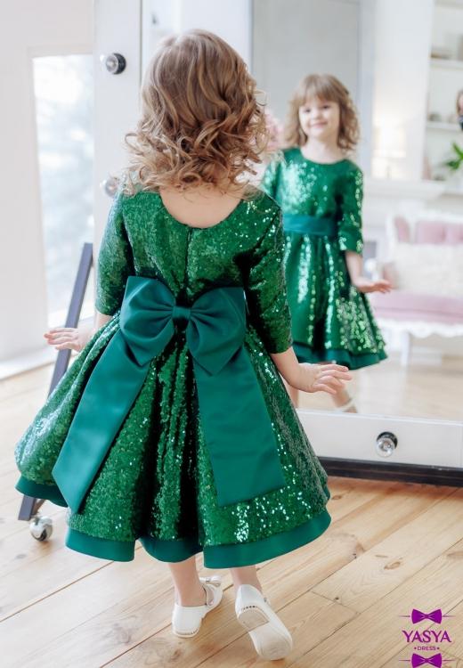 Сукня Блиск в зеленому кольорі