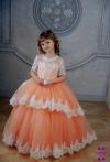 Сукня Мілана персикового кольору