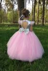 Сукня рожева з паэтками