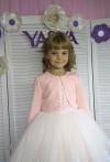 Сукня Ярослава в персиково-молочному  кольорі