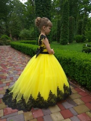 Сукня Аріні зі шлейфом