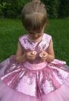 Сукня Аріша рожевого кольору